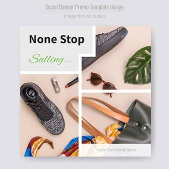 Modèle de flyer de réduction de vente de produit