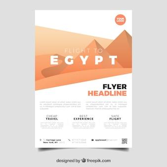 Modèle de flyer de voyage