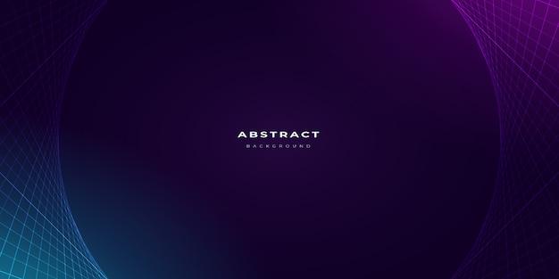 Modèle de fond abstrait couleur néon