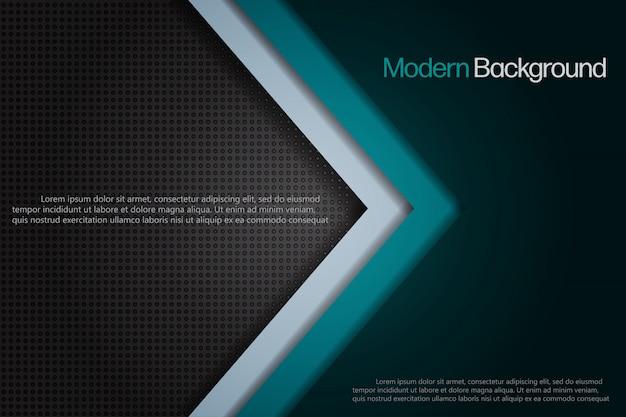 Modèle de fond abstrait style moderne.