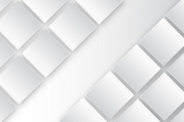 Modèle de fond blanc rectangle