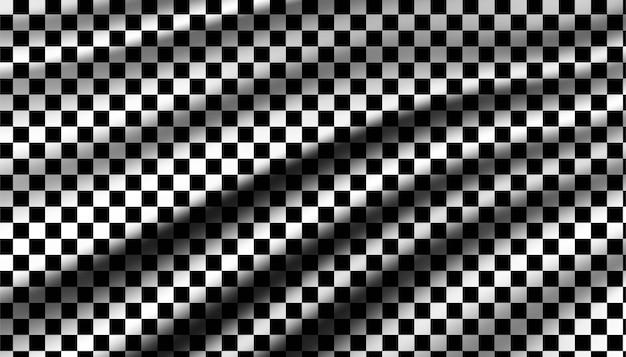 Modèle de fond de course de drapeau chechkered.