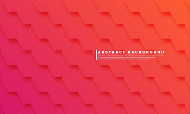 Modèle de fond de dégradé géométrique abstrait