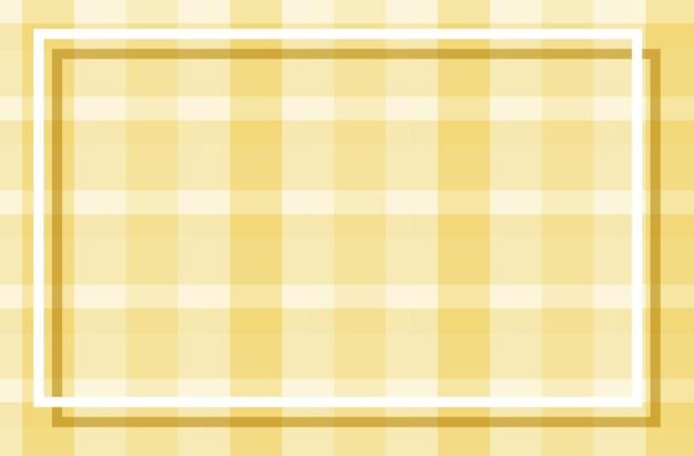 Modèle de fond avec un design plaqué jaune