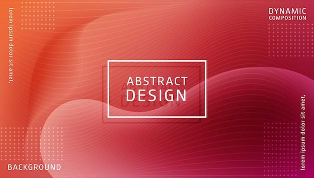 Modèle de fond dynamique dégradé abstrait