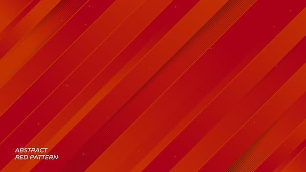 Modèle de fond géométrique rouge abstrait