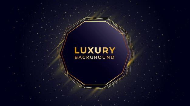 Modèle de fond de luxe abstrait