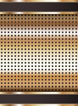 Modèle de fond métallique, 10eps