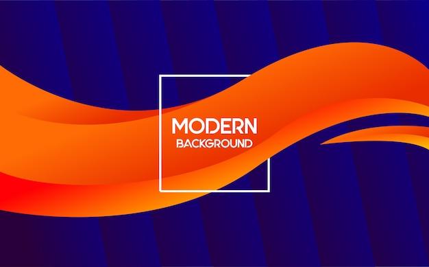 Modèle de fond moderne. style branché