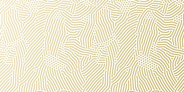 Modèle de fond de motif doré de vacances de noël pour la conception de cartes de voeux.