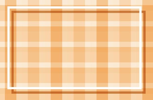 Modèle de fond avec des motifs plaqués orange