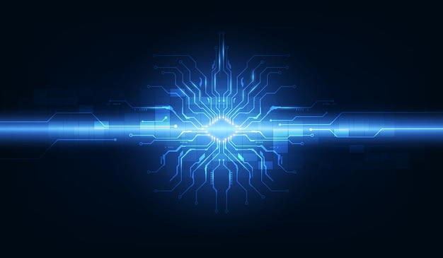 Modèle de fond de système d'exploitation de technologie numérique abstraite