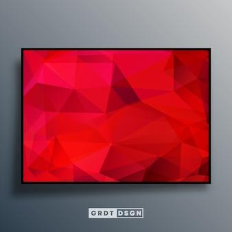 Modèle de fond avec une texture dégradée colorée pour fond d'écran, flyer, affiche, couverture de brochure, typographie ou autres produits d'impression. illustration