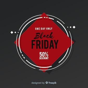 Modèle de fond de vente vendredi noir