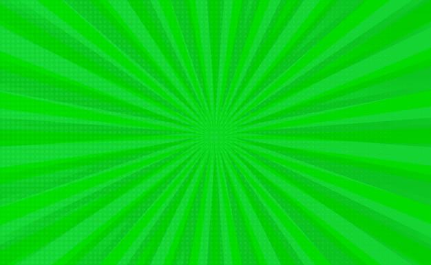 Modèle de fond vide de lignes de mise au point de zoom comique.