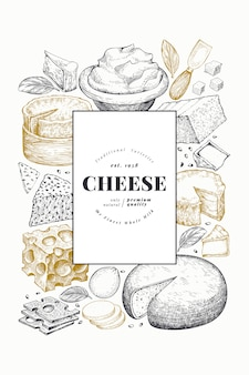 Modèle de fromage.