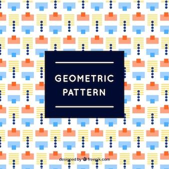 Modèle géométrique amusant et moderne