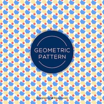 Modèle géométrique décoratif