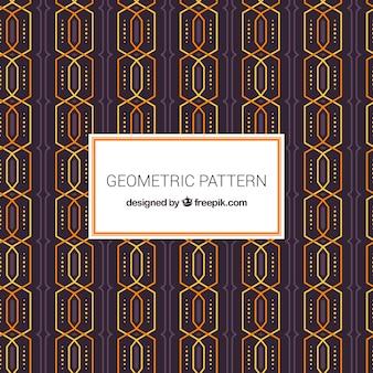 Modèle géométrique avec style futuriste