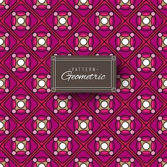 Modèle Géométrique Violet Vecteur Premium