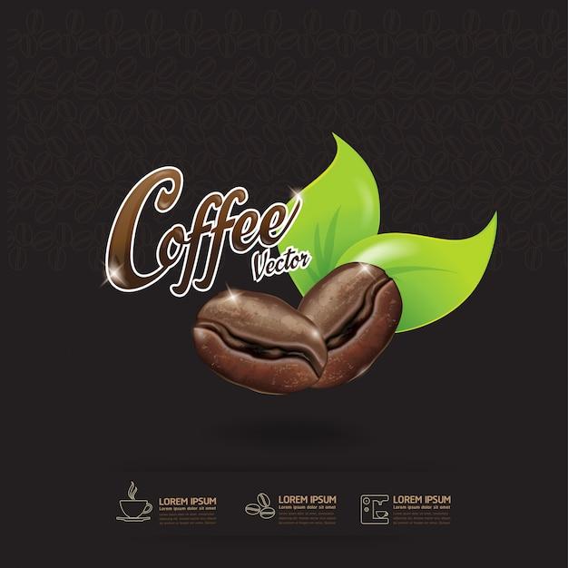 Modèle de grain de café