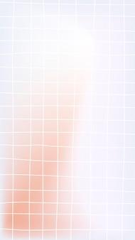 Modèle de grille instagram histoire fond vecteur, conception de modèle de grille
