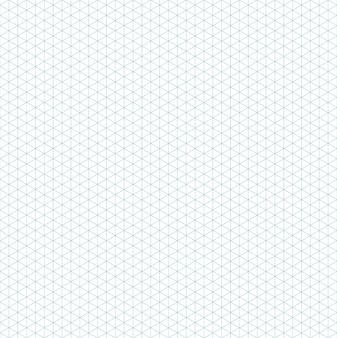 Modèle de grille isométrique transparente pour l'illustration vectorielle de conception