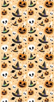 Modèle d'halloween heureux