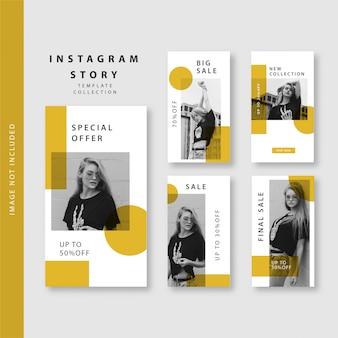 Modèle d'histoire instagram