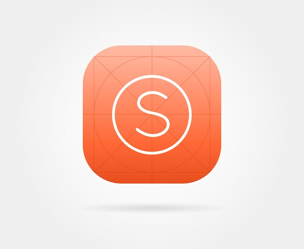 Modèle d'icône d'application
