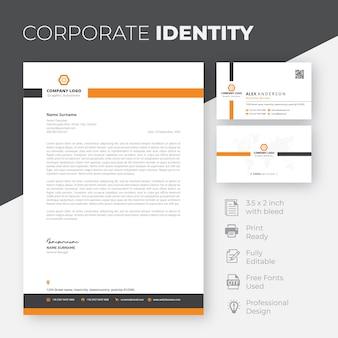 Modèle d'identité d'entreprise