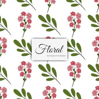 Modèle d'illustration de fleur