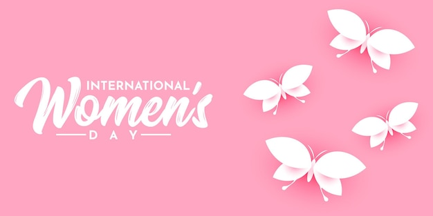Modèle d'illustration de la journée internationale des femmes
