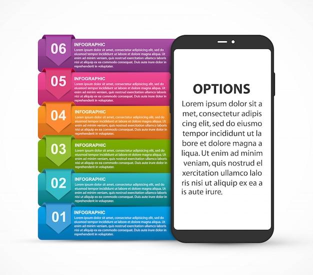 Modèle d'infographie pour présentations ou livret d'informations.