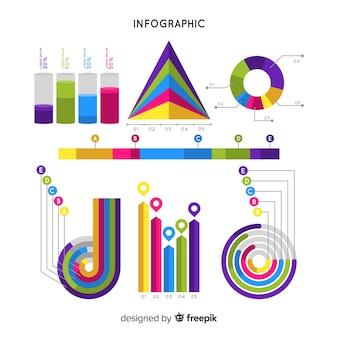 Modèle d'infographie