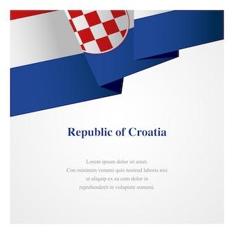 Modèle d'insigne de croatie