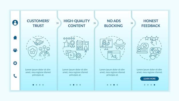 Modèle d'intégration des avantages du marketing d'influence