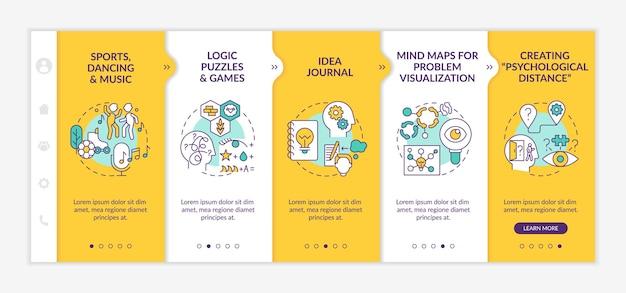 Modèle d'intégration de conseils pour améliorer les compétences en résolution de problèmes