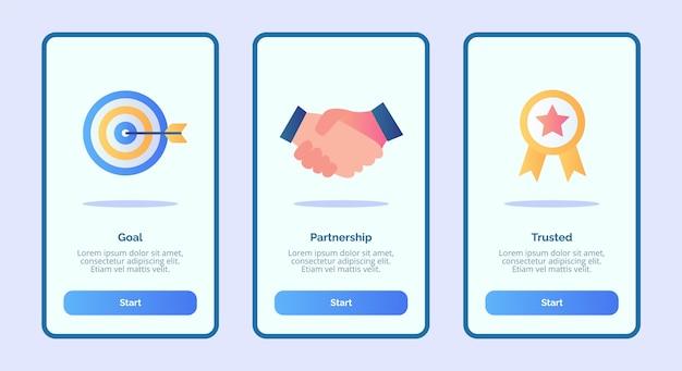 Modèle d'intégration pour la bannière d'applications mobiles