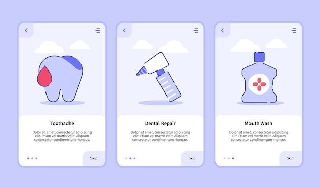Modèle d'intégration pour la conception d'applications mobiles ui pour les maux de dents médicaux