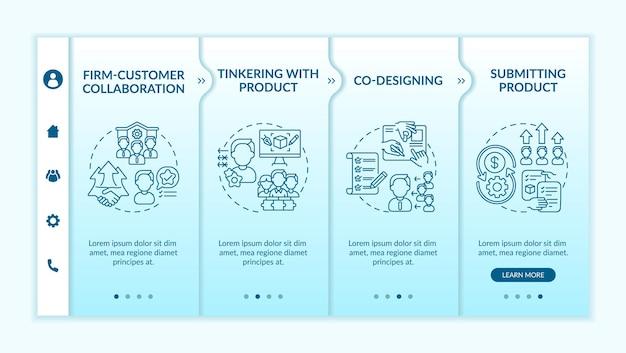 Modèle d'intégration des types de création collaborative