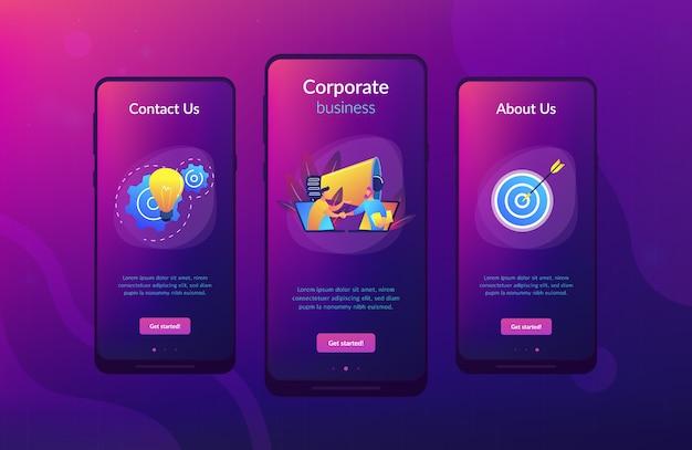 Modèle d'interface d'application de collaboration