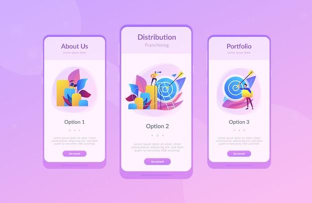 Modèle d'interface d'application d'opportunité d'affaires