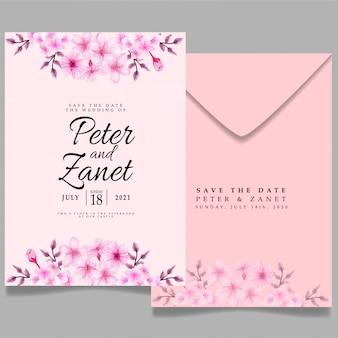 Modèle d'invitation d'événement de mariage moderne