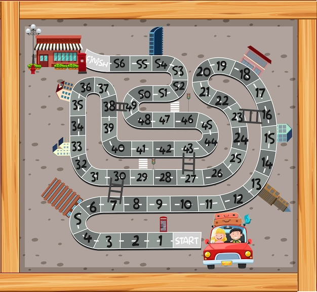 Un modèle de jeu de labyrinthe