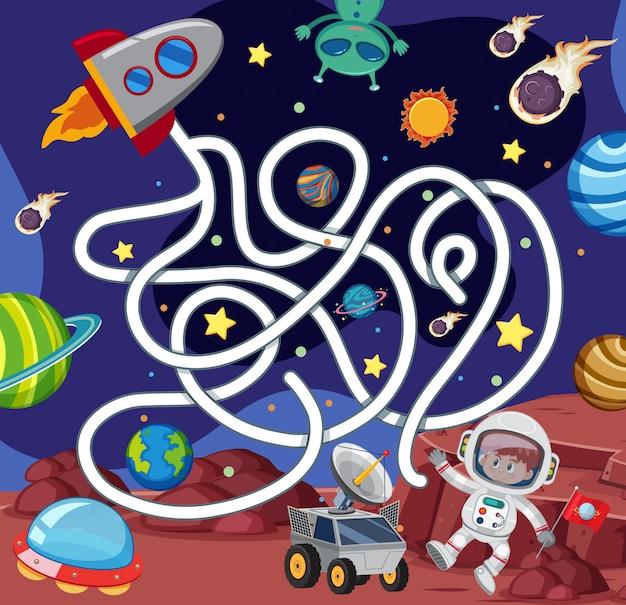 Un modèle de jeu spatial