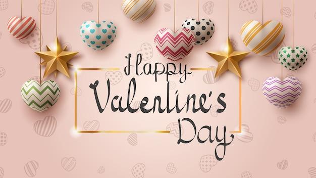 Modèle de jour de valentine