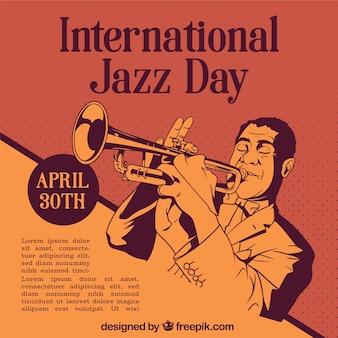 Modèle de journée internationale de jazz