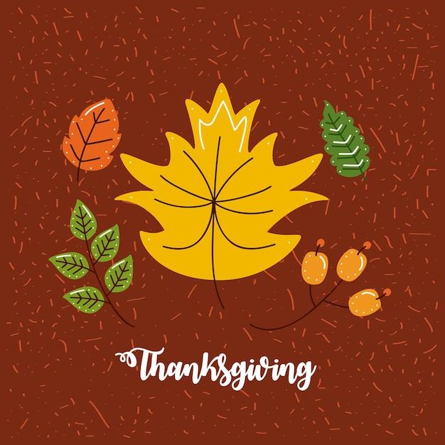 Modèle de joyeux thanksgiving