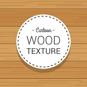 Modèle léger de texture en bois dessiné de dessin animé à la main